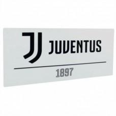 Plechová tabuľa 40/18cm JUVENTUS White