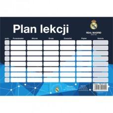 Rozvrh hodín / Timetable REAL MADRID, 708017004