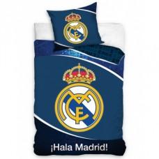 CARBOTEX Obojstranné obliečky REAL MADRID Big Crest,140/200+70/80