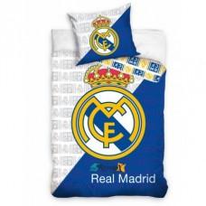 CARBOTEX Obojstranné obliečky REAL MADRID Cross,140/200+70/90