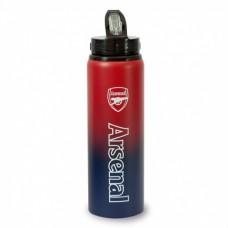 Hliníková fľaša s výsuvnou slamkou ARSENAL F.C. Fade Tritan, 750ml