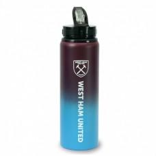 Hliníková fľaša s výsuvnou slamkou WEST HAM UNITED F.C. Fade Tritan, 750ml