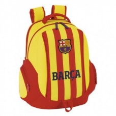 SAFTA Športový batoh 44cm FC BARCELONA Orange Stripe