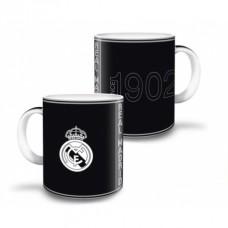 ARSUNA Keramický hrnček REAL MADRID Black 325ml, 92467583