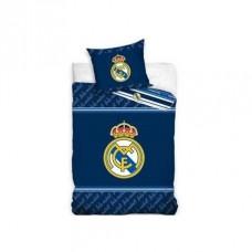 CARBOTEX Obojstranné obliečky REAL MADRID Dark Blue,140/200+70/90