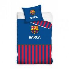 CARBOTEX Obojstranné obliečky FC BARCELONA Stripe, 140/200+70/90, FCB192028