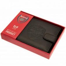 Pánska kožená bezpečnostná peňaženka ARSENAL F.C. RFID