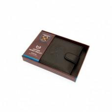 Pánska kožená bezpečnostná peňaženka WEST HAM UNITED F.C. RFID