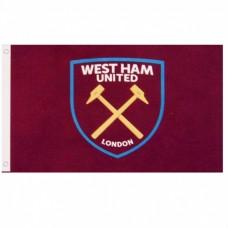 Klubová vlajka 152/91cm WEST HAM UNITED F.C. Core