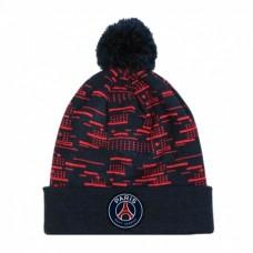 Štýlová zimná úpletová čiapka PARIS SAINT-GERMAIN F.C. Bobble