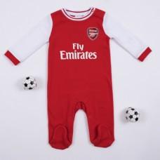 Bavlnené dupačky s dlhým rukávom ARSENAL F.C. 2019/20 - 9-12 mesiacov (80cm)