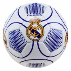 Futbalová lopta REAL MADRID C.F. White / Blue (veľkosť 5)