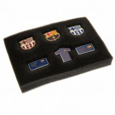 Sada klubových odznakov 6ks FC BARCELONA