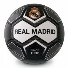 Futbalová lopta REAL MADRID C.F. Black/White (veľkosť 5)