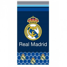 CARBOTEX Bavlnená osuška 70/140cm REAL MADRID C.F. Hexagons,  RM182076