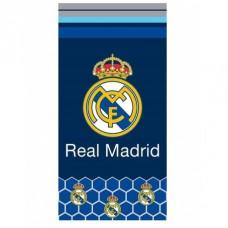 CARBOTEX Bavlnená osuška 70/140cm REAL MADRID C.F. Hexagons,  RM182076