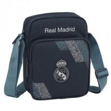 SAFTA Taška cez rameno / organizér REAL MADRID C.F.  Black, 611834672