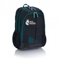 Školský / športový batoh 46cm REAL MADRID C.F. Green, RM-188, 502019012