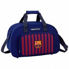 SAFTA Športová taška 40cm FC BARCELONA Stripe Neon, 711829273