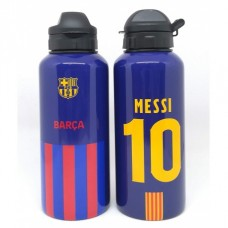 Hliníková fľaša na pitie FC BARCELONA Messi 400ml