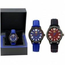 Luxusné pánske hodinky FC BARCELONA Čierne,7004020