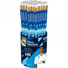 Obyčajná ceruzka HB s gumou REAL MADRID C.F., stojan, RM-160, 206018005