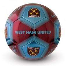 Futbalová lopta WEST HAM UNITED F.C. Signature (veľkosť 5)