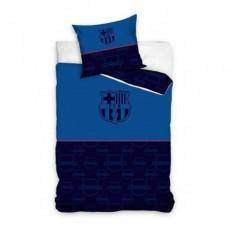 CARBOTEX Obojstranné obliečky FC BARCELONA Dark Blue, 140/200+70/90, FCB192002