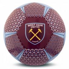 Futbalová lopta WEST HAM UNITED F.C. Vector (veľkosť 5)