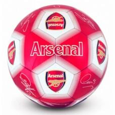 Futbalová lopta ARSENAL F.C. Signature (veľkosť 5)