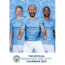 Nástenný kalendár 2021 MANCHESTER CITY