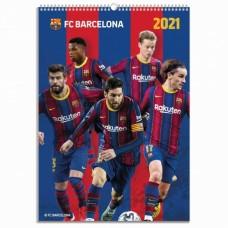 Nástenný kalendár 2021 FC BARCELONA