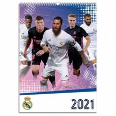 Nástenný kalendár 2021 REAL MADRID C.F.