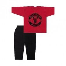 Chlapčenské bavlnené pyžamo MANCHESTER UNITED - 6 rokov (116cm)