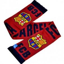 Šál pre fanúšikov FC BARCELONA Named Burgundy