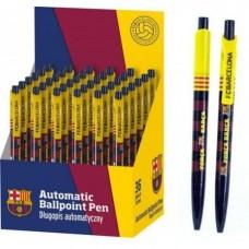 Guľôčkové pero 0,7mm FC BARCELONA, modré, stojan, 201015001