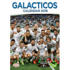 REAL MADRID ´GALACTICOS´ - NÁSTENNÝ  KALENDÁR 2016 (8483)