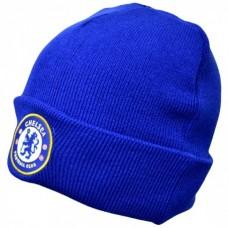Štýlová zimná úpletová čiapka FC CHELSEA Royal Cuff
