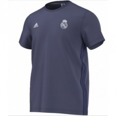 ADIDAS Pánske bavlnené tričko REAL MADRID Grey - M (medium)