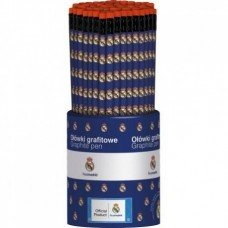Obyčajná ceruzka HB s gumou REAL MADRID, stojan, 206015004