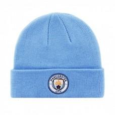 Štýlová zimná úpletová čiapka MANCHESTER CITY Sky Cuff