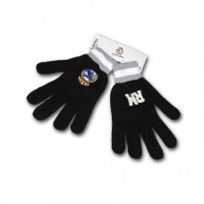 Úpletové rukavice REAL MADRID Black RM