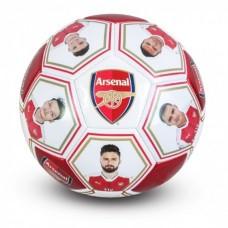 Futbalová lopta ARSENAL Players (veľkosť 5)