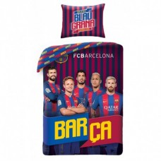 HALANTEX Obojstranné bavlnené obliečky FC BARCELONA Players, 140/200+70/90