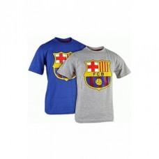 Chlapčenské bavlnené tričko 2ks FC BARCELONA - 4 roky (104cm)