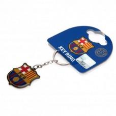 Kovový prívesok na kľúče FC BARCELONA Crest