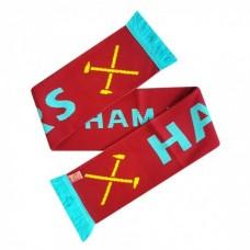 Šál pre fanúšikov WEST HAM Hammers