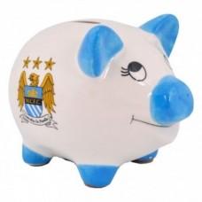 Porcelánová pokladnička MANCHESTER CITY Piggy