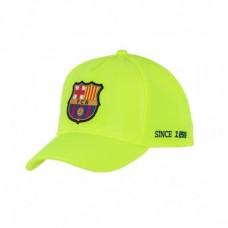 Junior Šiltovka FC BARCELONA Yellow 52cm
