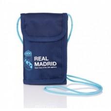Puzdro na krk / peňaženka REAL MADRID Blue, RM-97, 504017004